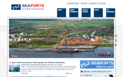 Seaports Niedersachsen: epas wins contract for port logistics of offshore wind farms