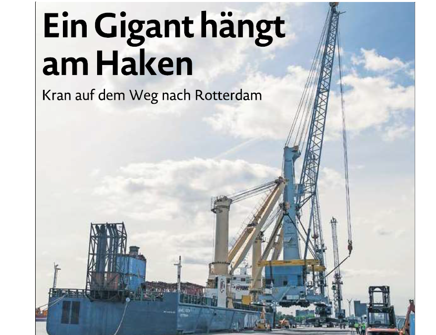 EZ 16.05.2019: Ein Gigant hängt am Haken