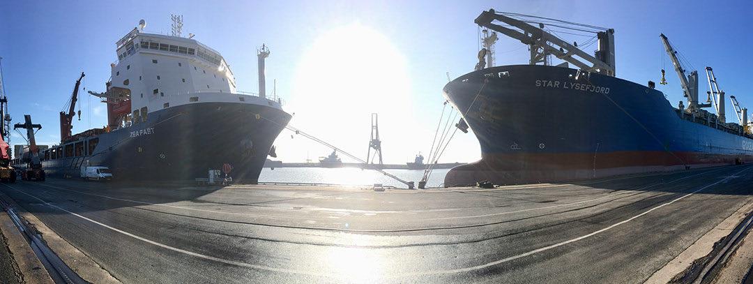 MS Star Lysefjord + MS Zea Fast in Emden