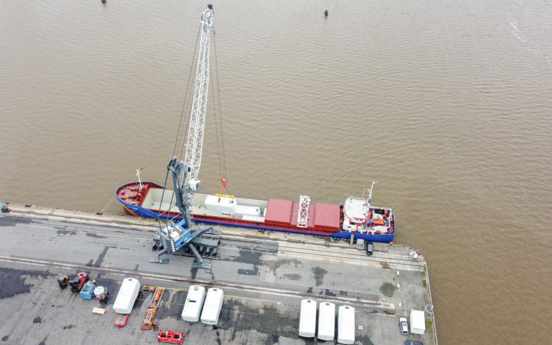 epas ergänzt das logistische Netzwerk im Bereich Windenergie
