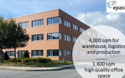 epas extended its warehouse, storage and office capacities in the port of Emden